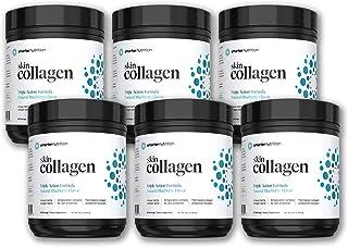 Smarter Skin Collagen - Triple Action Formula for Vibrant, Healthy Skin - Unique Marine Collagen Blend with Antioxidant Pr...
