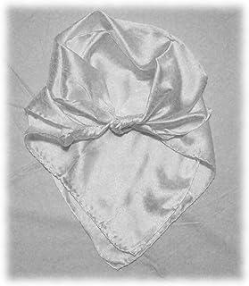 Wild Rag Solid Silk Scarf Jacquard Western Cowboy Buckaroo