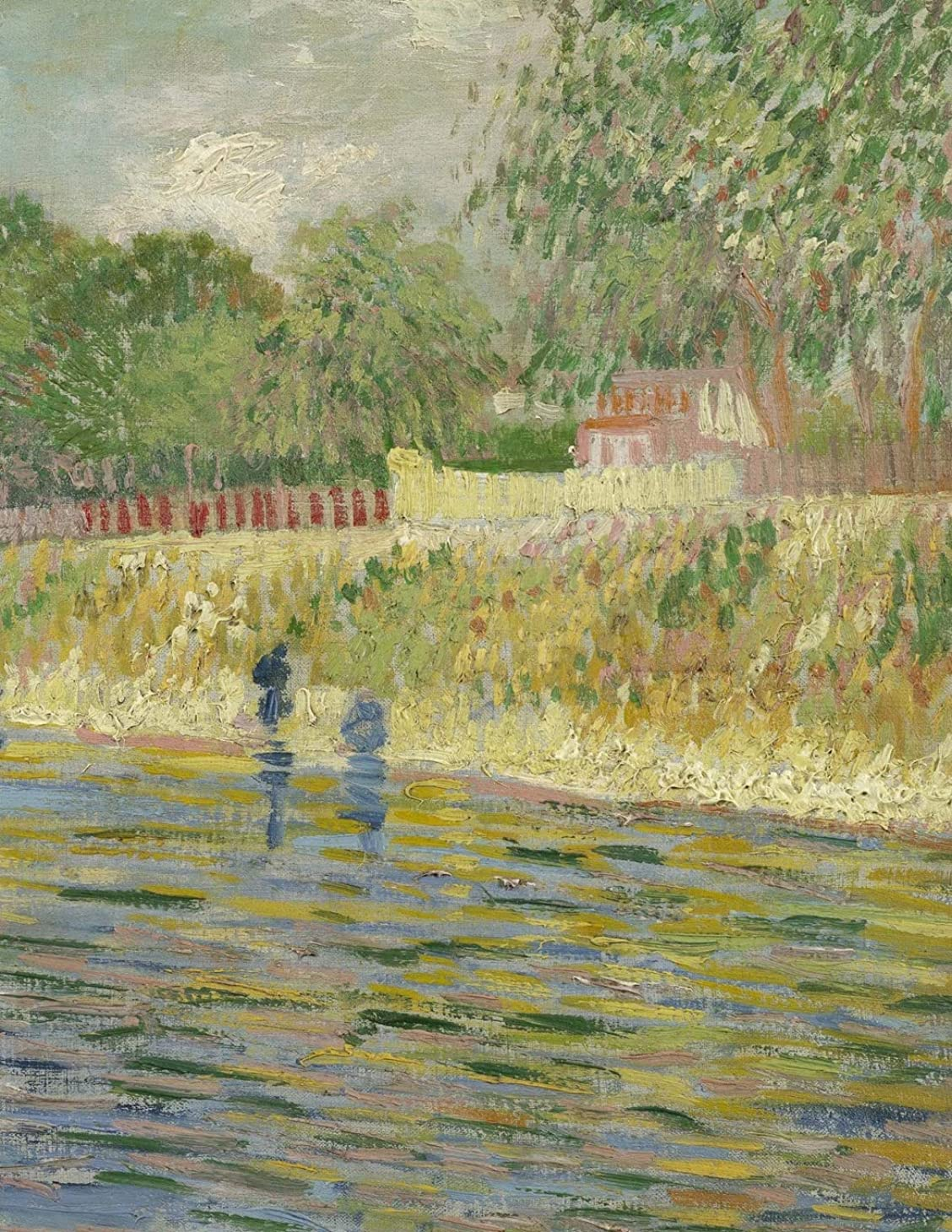 ヒット服を着るスポーツの試合を担当している人Bank of the Seine, Vincent van Gogh. Blank journal: 150 blank pages, 8,5x11 inch (21.59 x 27.94 cm) Soft cover