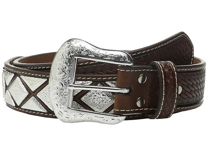 M&F Western Scalloped Diamond Concho (Tan 1) Men