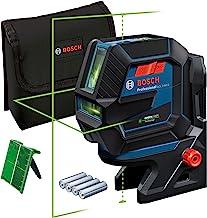 Bosch Professional Measurement lijnlaser GCL 2-50 G (groene laser, binnengebruik, houder RM 10, zichtbaar werkgebied: tot ...