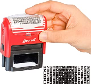 ID Theft Protection Stamp - Address Cover Stamp, Guard Your Identity, Keep Private Data Safe, Complete Security, Block Out Your Confidential Information, Advanced Identity Theft Prevention Stamp