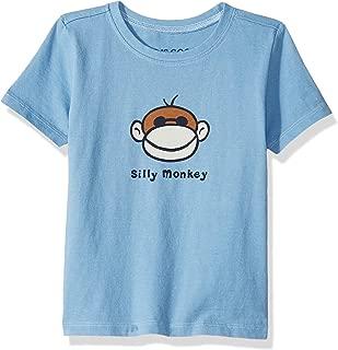 T Vintage Crushe Silly Monkey Pwdblu