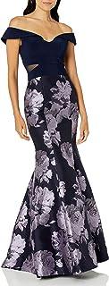 Xscape Women's Off The Sholder Mermaid Dress