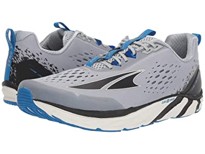 Altra Footwear Torin 4 (Gray/Blue) Men