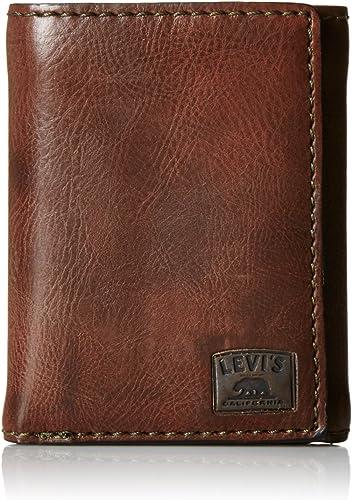 Levi's - Billetera,31LV110001, Hombres , Puntada negra, Sin tamaño