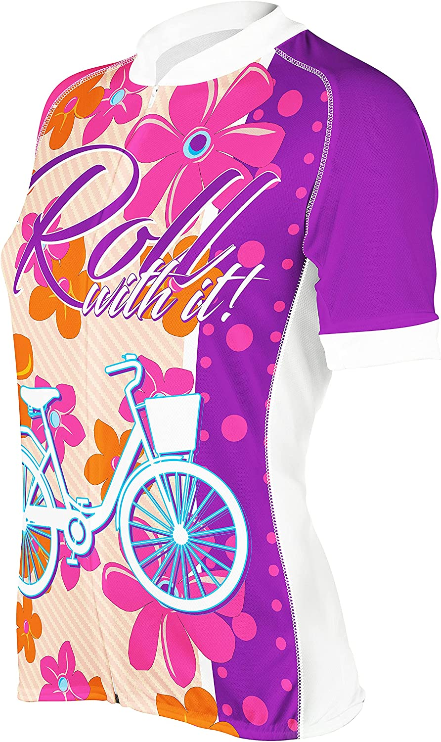 PEAK 1 SPORTS High material Women's Roll with Max 70% OFF Cycling Bike Jer Short Sleeve It