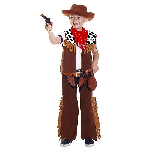 joker CC500001 - Cowboy Costume di Carnevale in Busta eaebdcd884e1