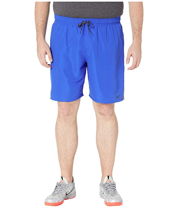 Nike Big Tall 9 Perforated Diverge Volley Shorts (Hyper Royal) Men