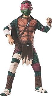 Disfraz de Raphael Tortugas Ninja Movie para niño - 8-10 a