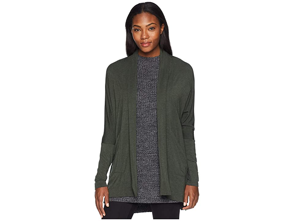 Prana Foundation Wrap (Forest Green Heather) Women