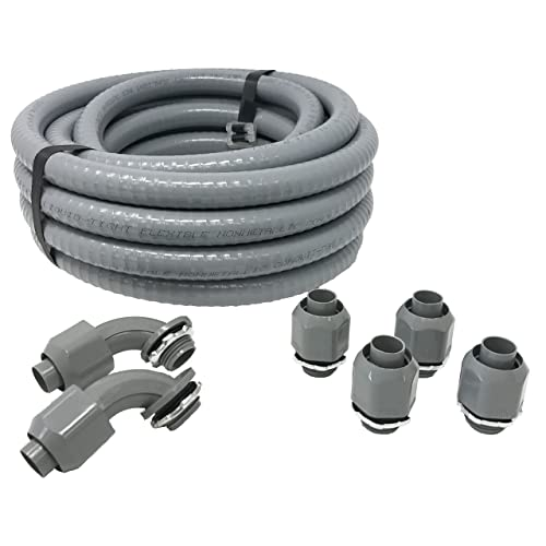outdoor pvc electrical conduit: amazon.com outdoor weatherproof emt connectors for wiring #14