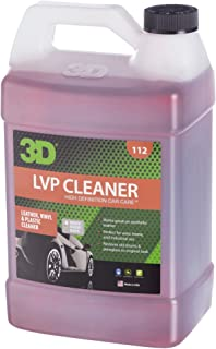 3D Leather, Vinyl & Plastic Cleaner | Concentrated & Organic Stain Remover | Remove Grease, Oil, Ink & Dirt | Made in USA | All Natural | No Harmful Chemicals (Gallon)