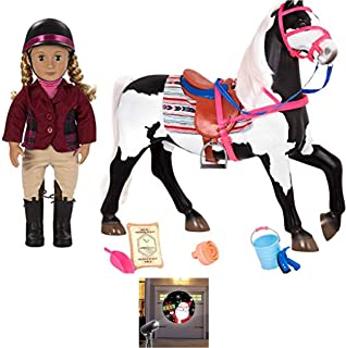 HOLIDAY BUNDLE !! Our Generation American Paint Horse For 18