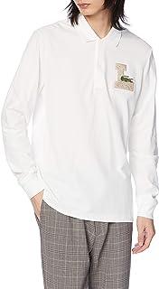 [ラコステ] ポロシャツ [公式] Lロゴバッヂロングスリーブコットンポロシャツ メンズ PH1876L