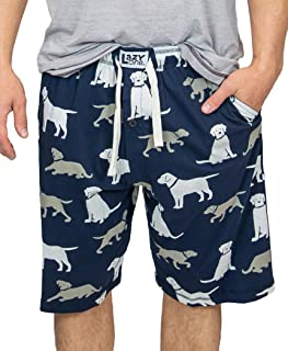 Lazy One Pajama Shorts for Men, Men's Separate Bottoms, Cotton Loungewear