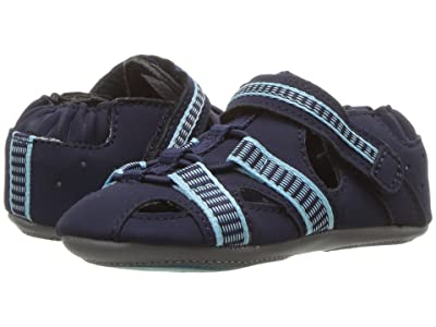 Robeez Beach Break Mini Shoez Infant/Toddler) (Navy) Boy