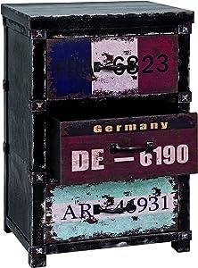 Haku Möbel 27993 cómoda, 32 x 40 x 61 cm, Negro/Vintage
