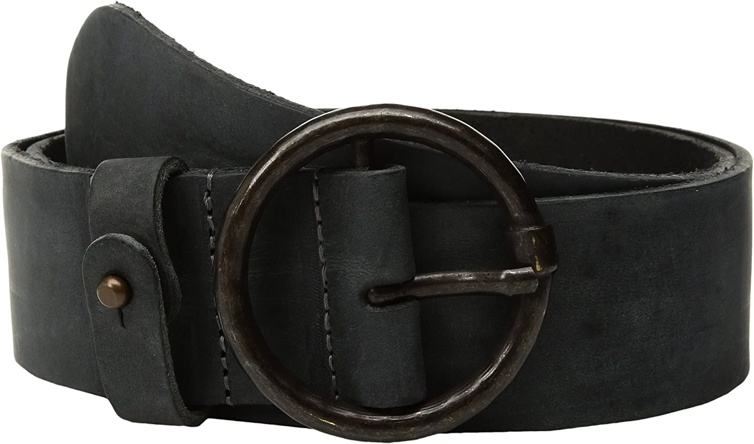 Amsterdam Heritage Leather Belt 45501 Distressed Black belt