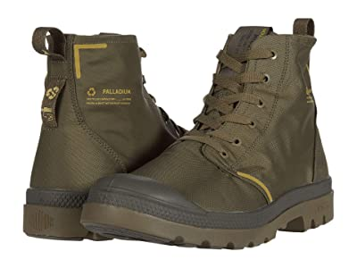 Palladium Pampa Lite+ Recycle Wp+ (Dusky Green) Shoes