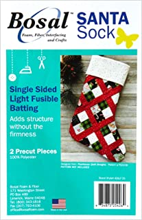 Bosal Santa Sock Fusible Batting, White