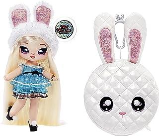 MGA Entertainment Na Surprise Mannequin 2-en-1 & Série Glam – À Collectionner – Poupée aux Cheveux Sac en Forme d'Ours Ros...