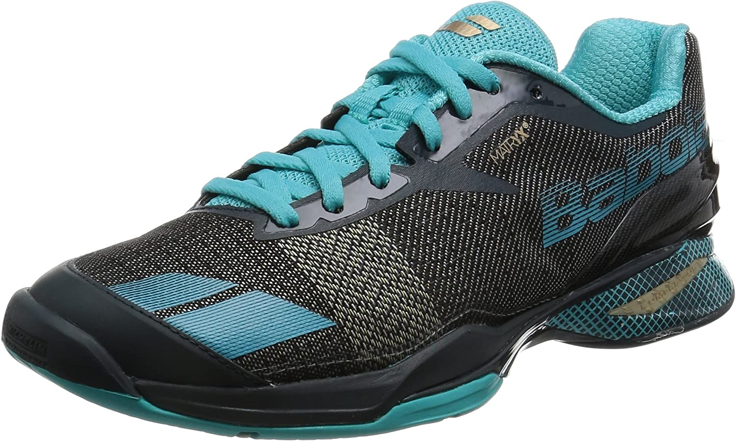 Babolat Jet All Court Womens Tennis shoes Grey bluee