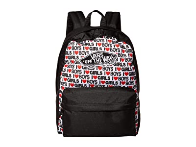 Vans Realm Backpack (I Heart Boys Girls) Backpack Bags