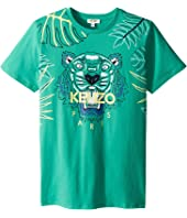 Kenzo Kids - Jungle Design Tee (Big Kids)