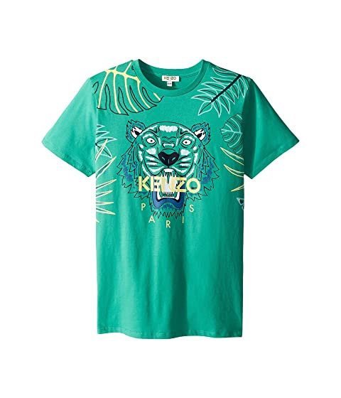 Kenzo Kids Jungle Design Tee (Big Kids)