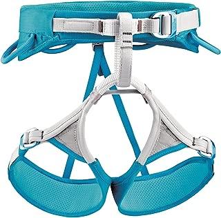PETZL Luna Climbing Harness - Women's Turquoise/Grey Large
