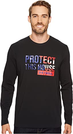 Freedom Protect This House Long Sleeve Tee