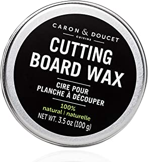 Caron & Doucet - Cutting Board & Butcher Block Wood Conditioning & Finishing Wax | 100% Plant-Based & Vegan, Best for Wood...