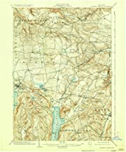YellowMaps Richfield Springs NY topo map, 1:62500 Scale, 15 X 15 Minute, Historical, 1903, Updated 1923, 20.1 x 16.6 in