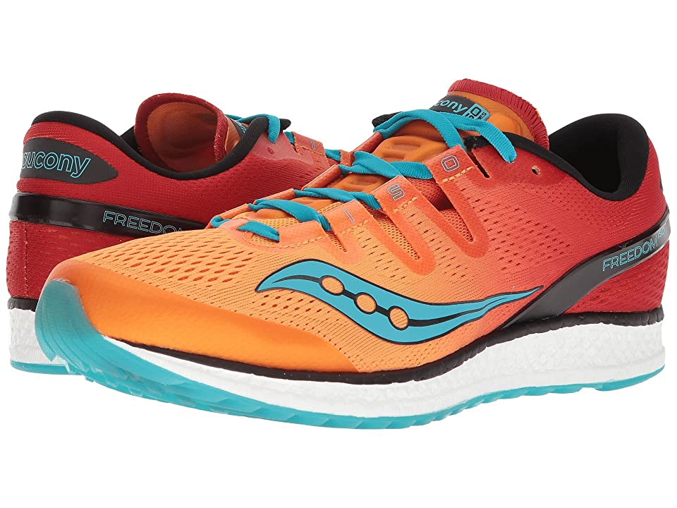 Saucony Freedom ISO (Orange/Red/Teal) Men