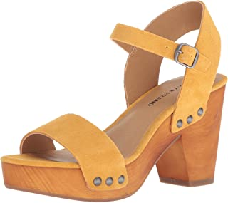 Lucky Brand Womens Trisa High Heel Heeled Sandal