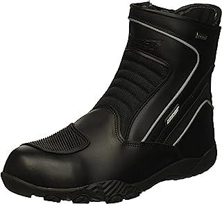 Joe Rocket Men`s Meteor FX Mid Leather Motorcycle Riding Boot (Black, Size 11)