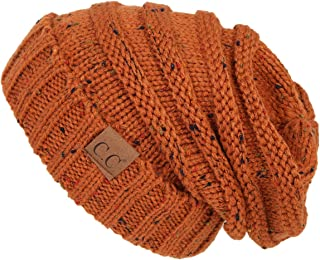 ba93d5285b6 FunkyJunque Trendy Warm Oversized Chunky Soft Oversized Cable Knit Slouchy  Beanie