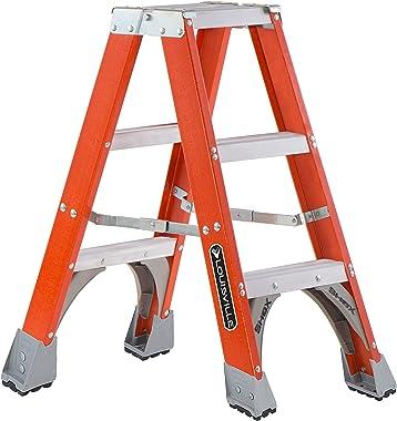 Louisville Ladder FM1503 Twin Front Stepladder, 3-Feet