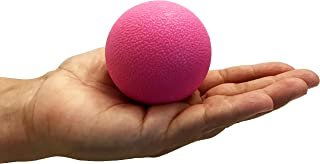 Massage Ball, Lacrosse - Best Deep Tissue Body Massage for Back, Neck, Shoulder, Hip & Joints - Dense Ball is great for Muscle Knots & Stress Relief, Physical Therapy, Yoga, Reflexology & Therapy Ball