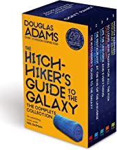 Douglas Adams Pan Boxset - The Hitchhiker's Guide to the Galaxy Book 1-5