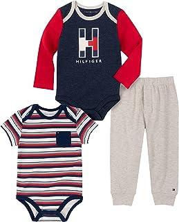 baby-boys 3 Pieces Bodysuit Pants Set