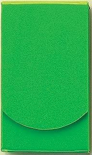 Boston International Green Patent Leather Pocket Tissue Holder