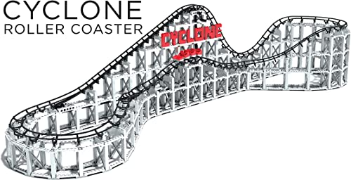 Tu satisfacción es nuestro objetivo CDX Montañas Rusas 1 Roller Coaster del del del ciclón  en venta en línea