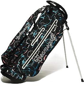 (ビームスゴルフ)BEAMS GOLF/バッグ キャディバッグ スプラッシュ柄 スタンド キャディバッグ メンズ BLACK 0