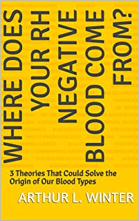 Where Does Your Rh Negative Blood Come From?: 3 Theories That Could Solve the Origin of Our Blood Types