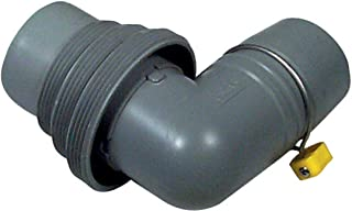 Camco Easy Slip Elbow and 4-in-1 Sewer Adapter with Easy-Slip Rings -Securely Connects RV Sewer Hose to Dump Station (39144)