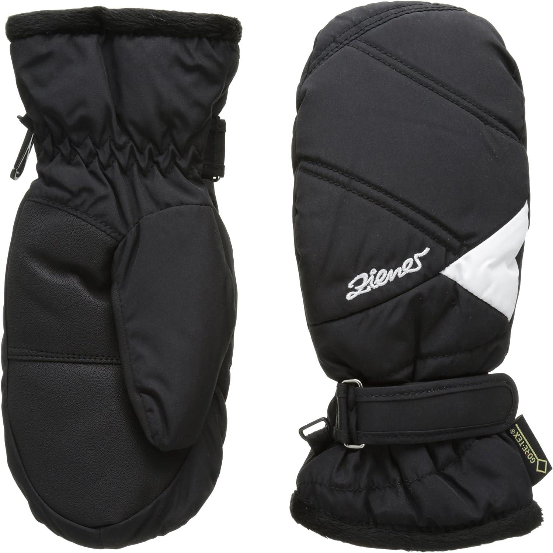 (FR   S (size Fabricant   5), Black)  Ziener Lia Girls Ski Mittens, Girls', Lia