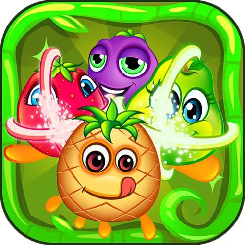 Frutas Crush Mania   Amigos del bosque Match 3 juego de puzzle