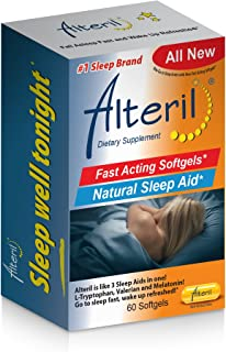 Sponsored Ad - Alteril Natural Sleep Aid Soft Gel 60ct